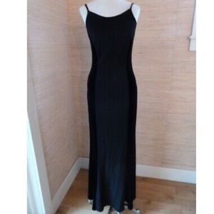 Vintage Jessica McClintock Gunne Sax Black Dress
